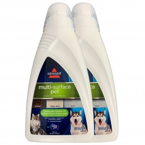 Twin Pack Multi-Surface Pet Cleaning Formula For CrossWave & SpinWave